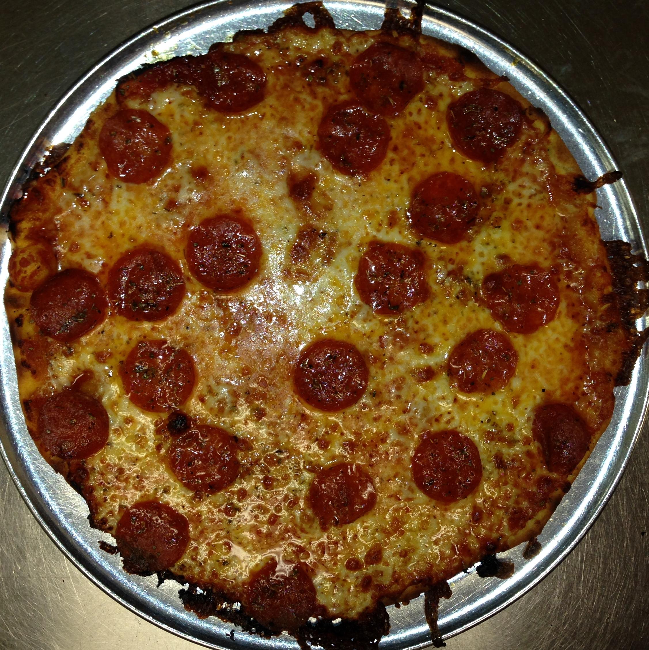 Pepperoni Pizza Pie Recipe Fricanos Pepperoni Pizza Pie